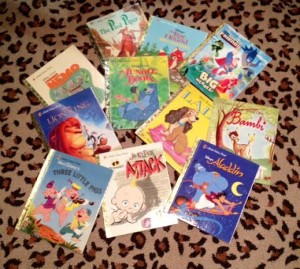 Some of our Little Golden Books