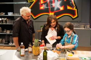 Food Network Photo: Guy, Rachael & Lauren