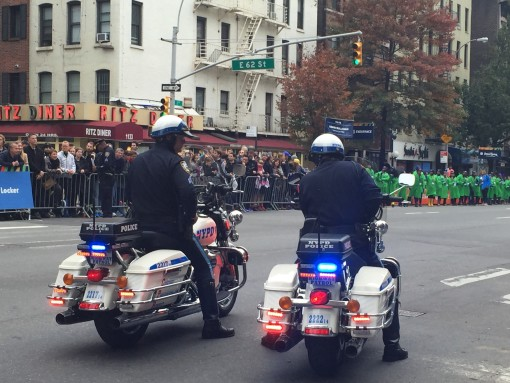 NYPD keeping us safe!